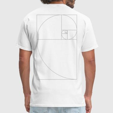 Golden Ratio Fibonacci_Blocks - Men's T-Shirt