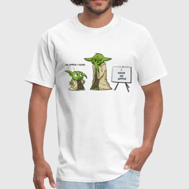 Grammar Nazi Yoda is a grammar nazi - Men's T-Shirt