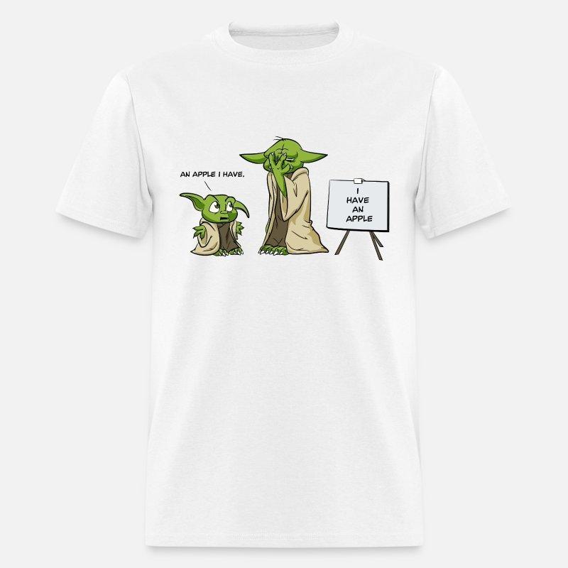 Yoda Is A Grammar Nazi Mens T Shirt Spreadshirt