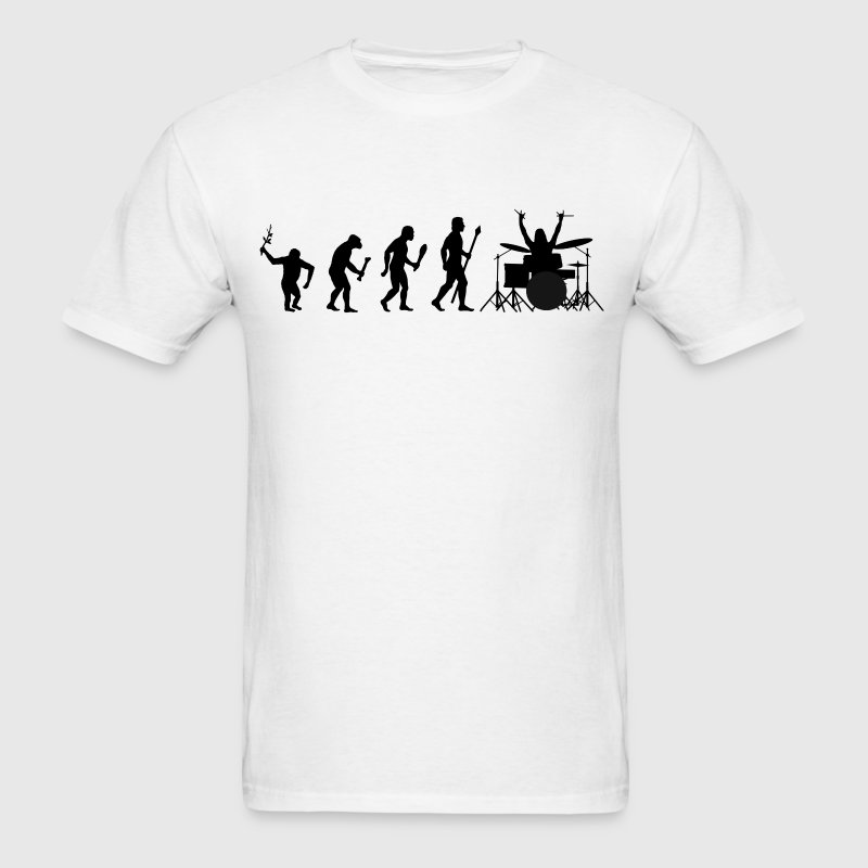 Drums Evolution - Men's T-Shirt