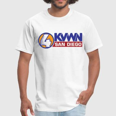 Channel 4 San Diego Anchorman KVWN - Men's T-Shirt
