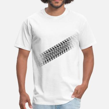 Tire Tread Tire footprint, tire tread (Diagonal, PNG) - Men's T-Shirt