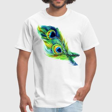 Peacock Feather peacock feather - Men's T-Shirt