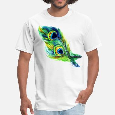 Peacock peacock feather - Men's T-Shirt