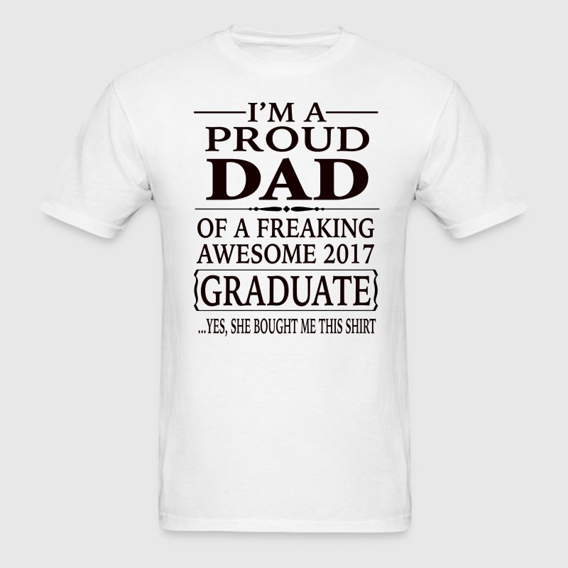 Graduate Dad - Men's T-Shirt