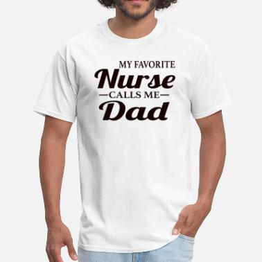 Nursing Dad Nurse Dad - Men's T-Shirt