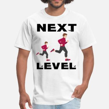 Next next level man and women gift t shirt - Men's T-Shirt