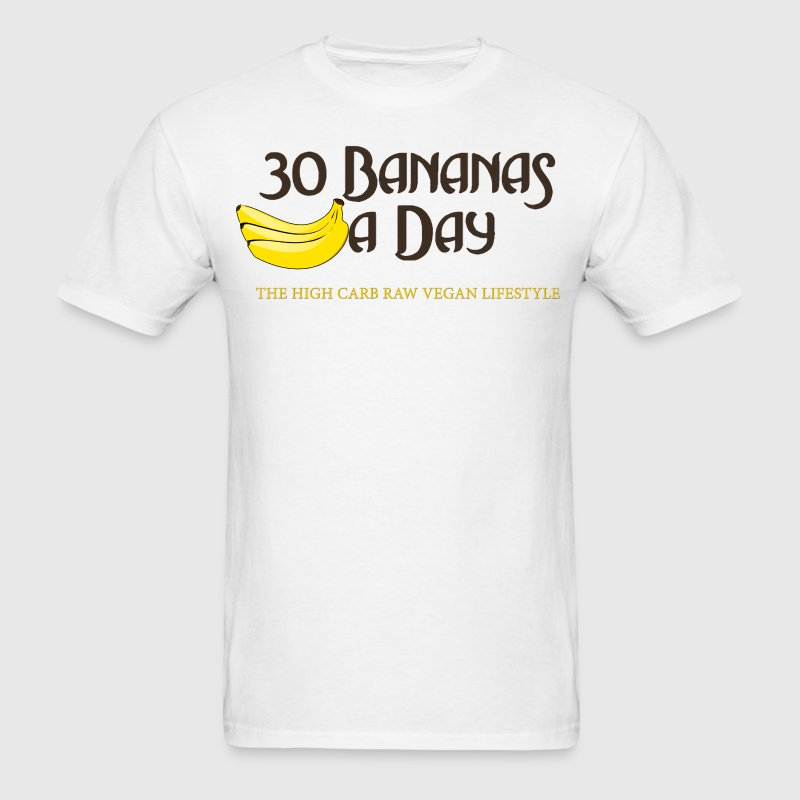 30BananasADay.png - Men's T-Shirt