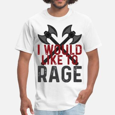 I Would Like To Apologize I WOULD LIKE TO RAGE - Men's T-Shirt