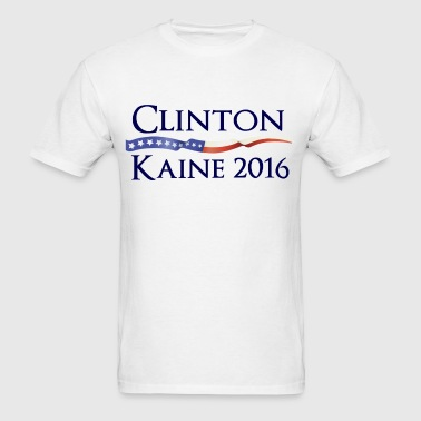 Clinton Kaine 2016 Design - Men's T-Shirt