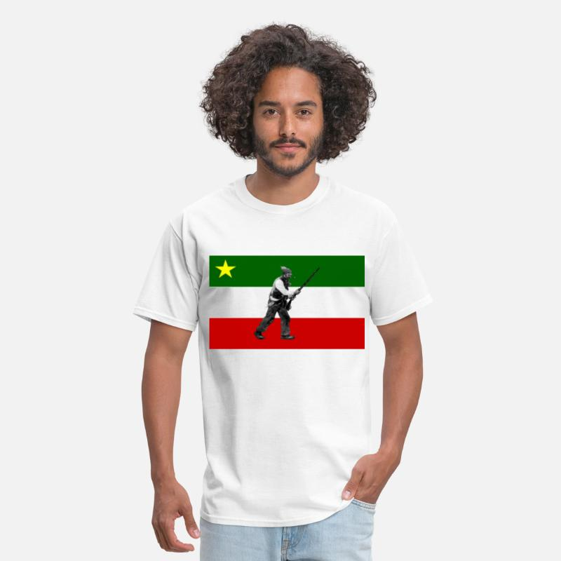 Nationale T-Shirts - Drapeau des Patriotes - Men's T-Shirt white