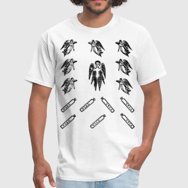 Illustrations of prophecy - Men's T-Shirt