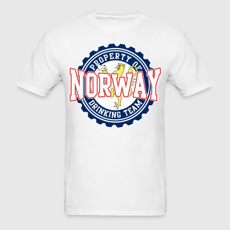 Property of norway drinking team by estyle spreadshirt for Property of shirt designs