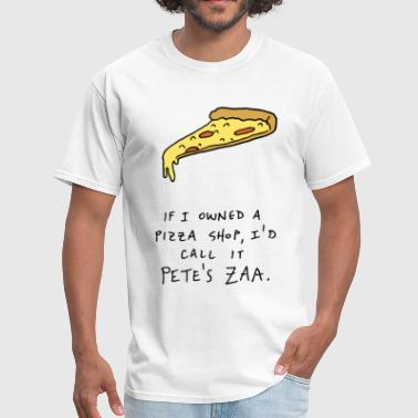 Funny pizza pun - Men's T-Shirt