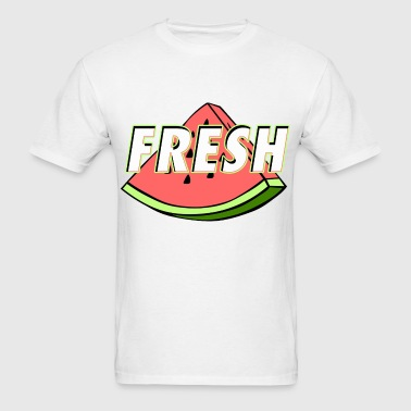 Fresh Watermelon design - Men's T-Shirt