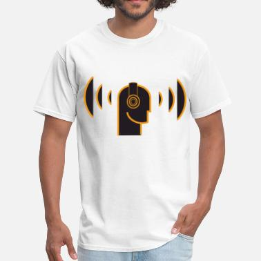 Dj Head Head Music DJ - Men's T-Shirt