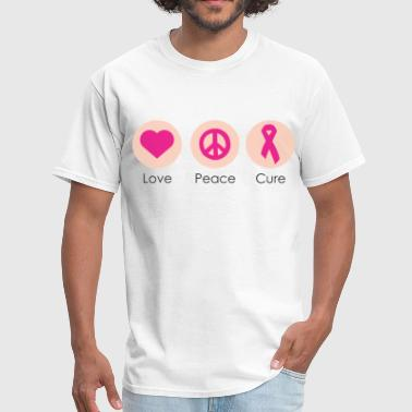 Love Peace Cure - Men's T-Shirt
