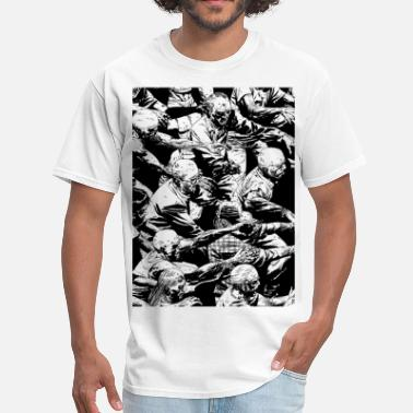 Hoard Zombie Hoard Black and white - Men's T-Shirt