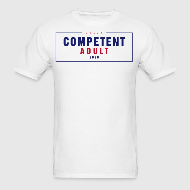 Competent Adult 2020 - Men's T-Shirt