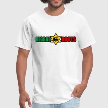 reggae roots - Men's T-Shirt
