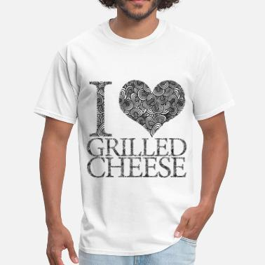 I Love Cheese I love grilled cheese - Men's T-Shirt