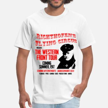 Red Baron Richthofen's Flying Circus - Men's T-Shirt