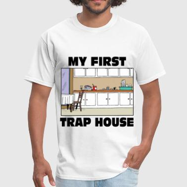 Drug My first trap House - Men's T-Shirt