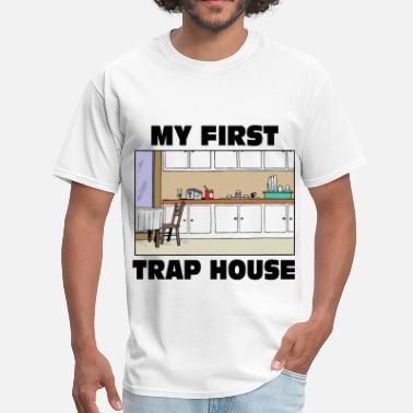 Ghetto My first trap House - Men's T-Shirt