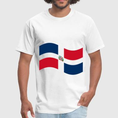 Dominican Republic Flag - Men's T-Shirt