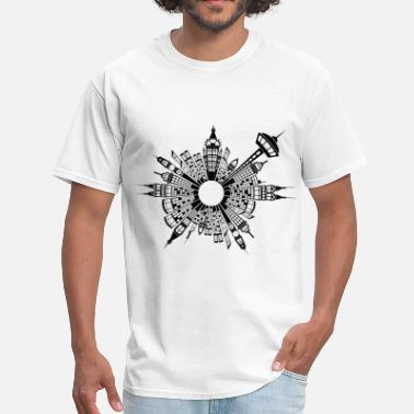 Cityscape Awesome Cityscape - Men's T-Shirt
