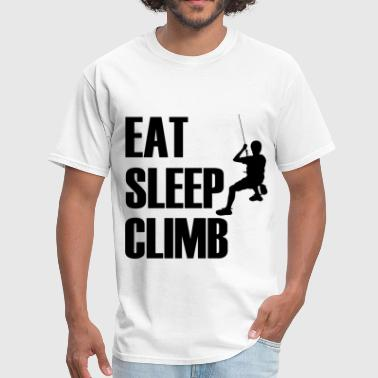 EA SLEEP CLIMB1.png - Men's T-Shirt