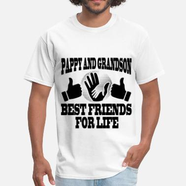 Pappy And Grandson PAPPY AND GRADNSON 1.png - Men's T-Shirt