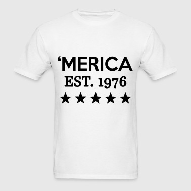 MERICA 4.png - Men's T-Shirt
