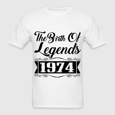legends 1974 2.png - Men's T-Shirt