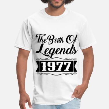 1977 Legend legends 1977 2.png - Men's T-Shirt