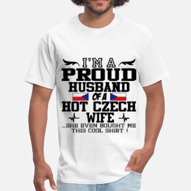 Czech czech wife 112.png - Men's T-Shirt