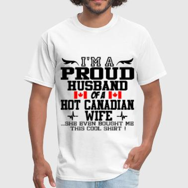 canadian wife 112.png - Men's T-Shirt
