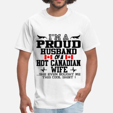 Canadian Wife canadian wife 112.png - Men's T-Shirt
