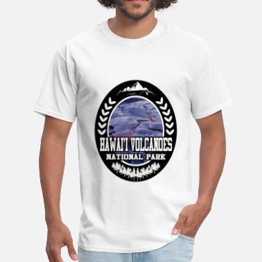 Hawaii Volcanoes National Park HAWAII 29102912.png - Men's T-Shirt