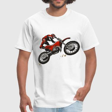 Dirt Bike Rider - Men's T-Shirt
