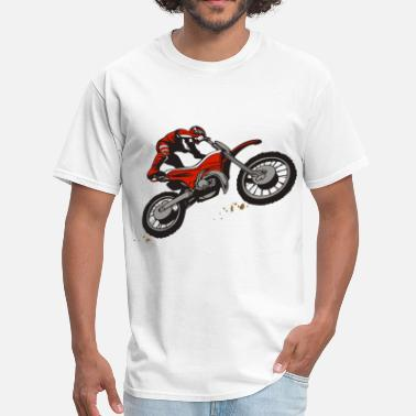 Dirt Bike Rider Dirt Bike Rider - Men's T-Shirt
