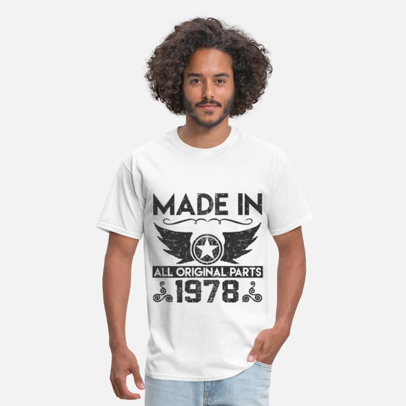 1978 T-Shirts - made in 1978 11.png - Men's T-Shirt white