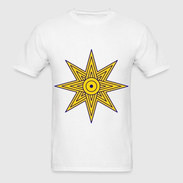 Ishtar-star-symbol - Men's T-Shirt