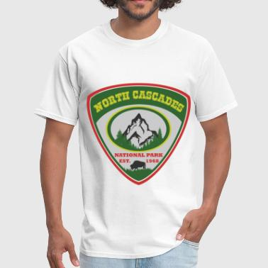 north cascades 1989.png - Men's T-Shirt