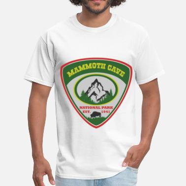 Mammoth-cave mammoth 1941.png - Men's T-Shirt