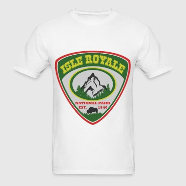 isle royale 1940.png - Men's T-Shirt