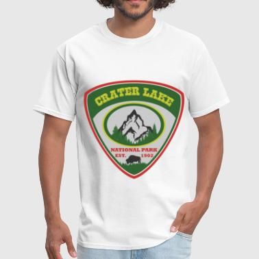crater lake 1902.png - Men's T-Shirt