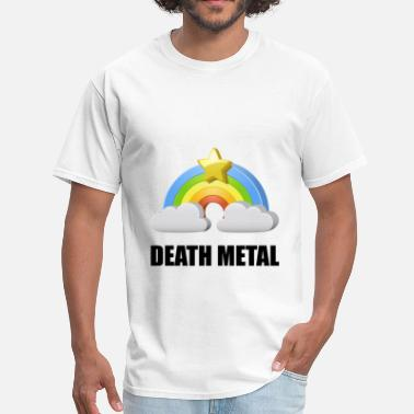 Death Metal Rainbow Death Metal Rainbow - Men's T-Shirt