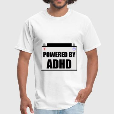 Powered By ADHD - Men's T-Shirt