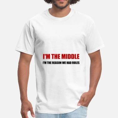 Older Middle Reason For Rules - Men's T-Shirt